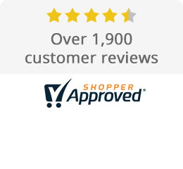 4.5 stars from over 1,700 customer reviews