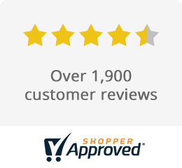 4.5 stars from over 1,600 customer reviews